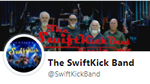 The SwiftKick Band twitter-snip-150 find SwiftKick at: