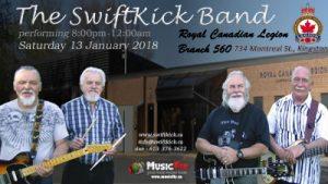The SwiftKick Band 560Legion13jan2018-400w-300x169 Legion Branch 560 - Kingston