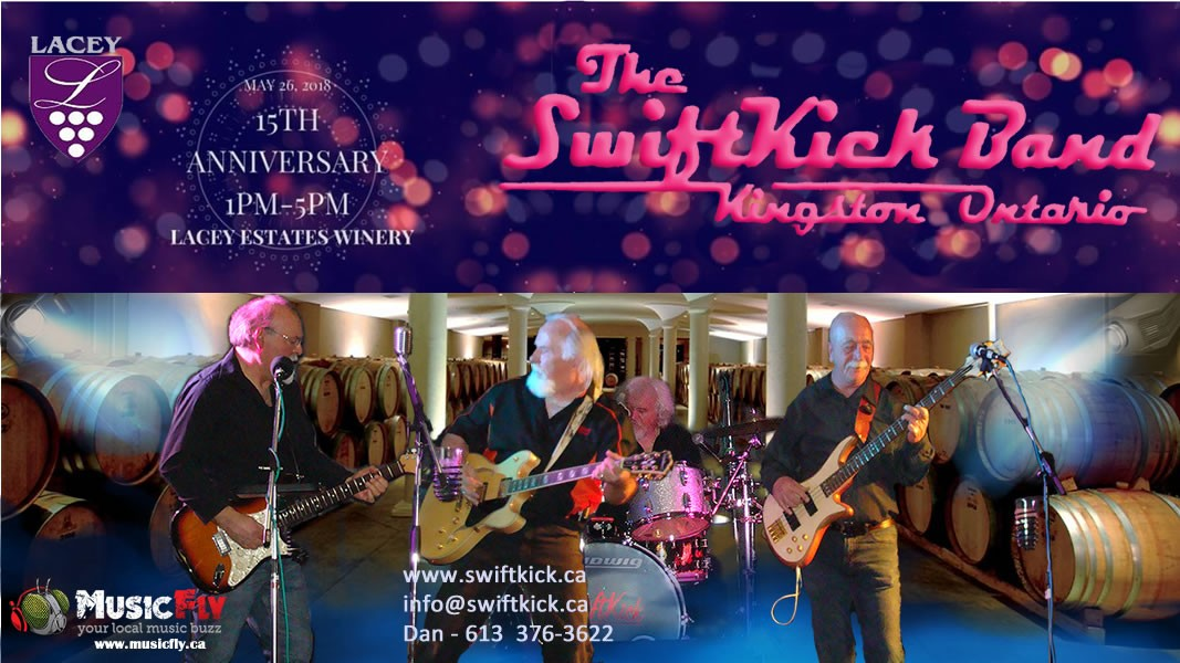 The SwiftKick Band lacey-estates-26may2018 Lacey Estates Winery 15th Anniversary